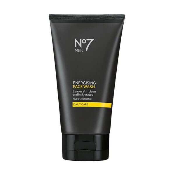 Boots No.7 Men Energising Face Wash
