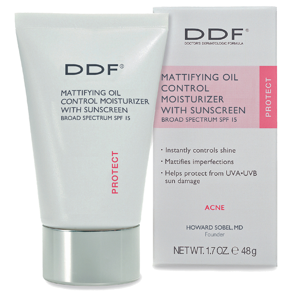 DDF Mattifying Oil Control UV Moisturizer SPF 15