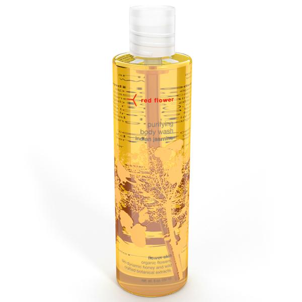Red Flower Indian Jasmine Purifying Body Wash
