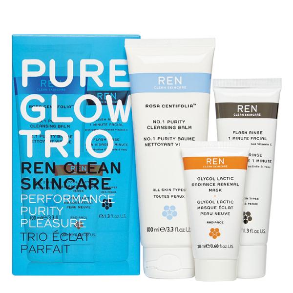 REN Pure Glow Trio Kit