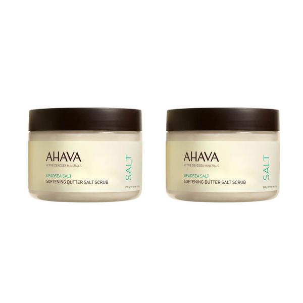 2x AHAVA Softening Butter Salt Scrub