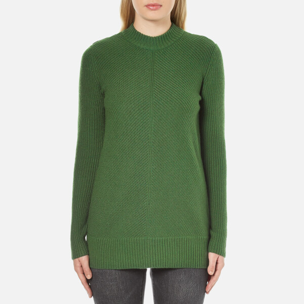 MICHAEL MICHAEL KORS Women's Merino Rib Sweater - Moss Green