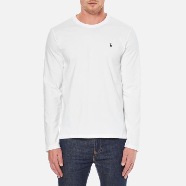 Polo Ralph Lauren Men's Long Sleeve Crew T-Shirt - White