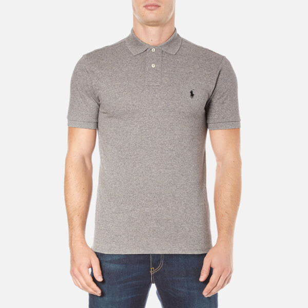 Polo Ralph Lauren Men's Short Sleeve Slim Fit Polo Shirt - Canterbury Heather