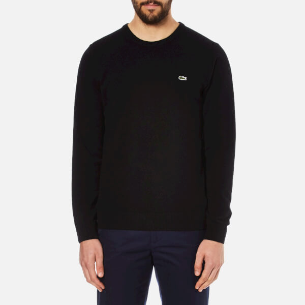 Lacoste Men's Crew Neck Sweatshirt - Black