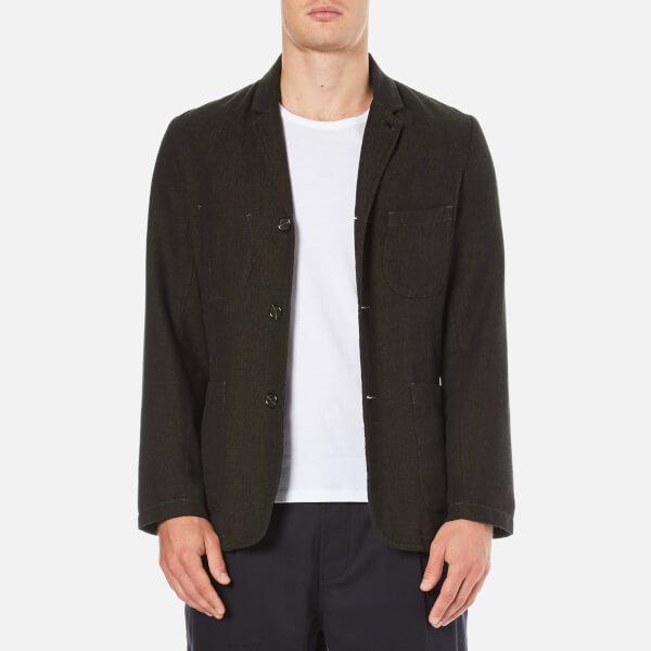 Universal Works Men's Suit Jacket - Olive