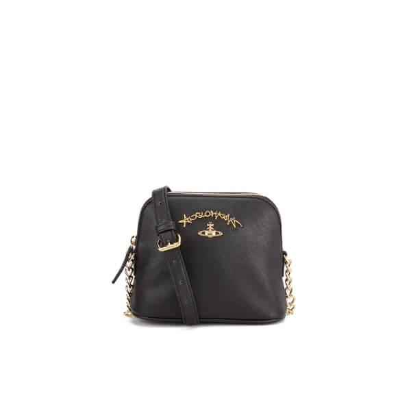 Vivienne Westwood Women's Divina Cross Body Bag - Black