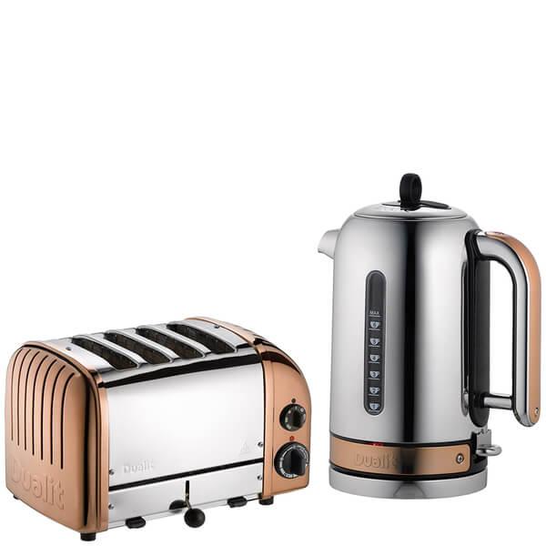 Dualit Classic Vario 4 Slot Toaster Amp Kettle Bundle