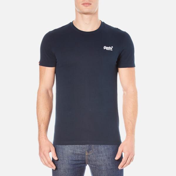 Superdry men s orange label vintage embroidered t shirt