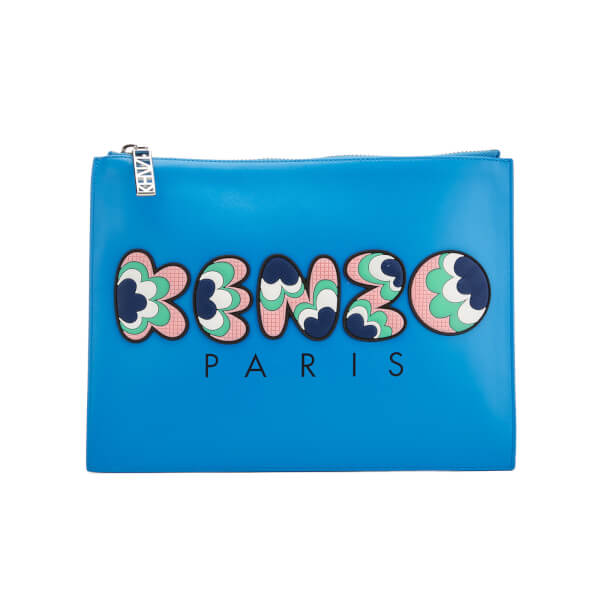 KENZO Women's Occasions A4 Pouch - Blue