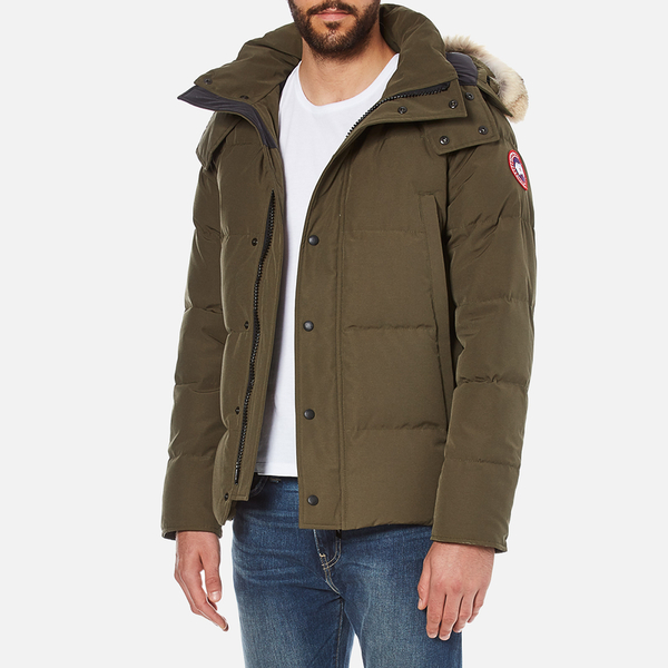 canada goose langford parka coffee men's