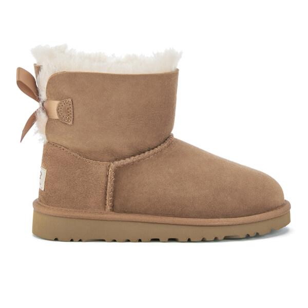 UGG Kids' Mini Bailey Bow Boots - Chestnut