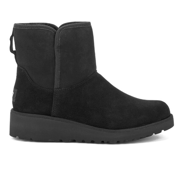 UGG Women's Kristin Classic Slim Sheepskin Boots - Black