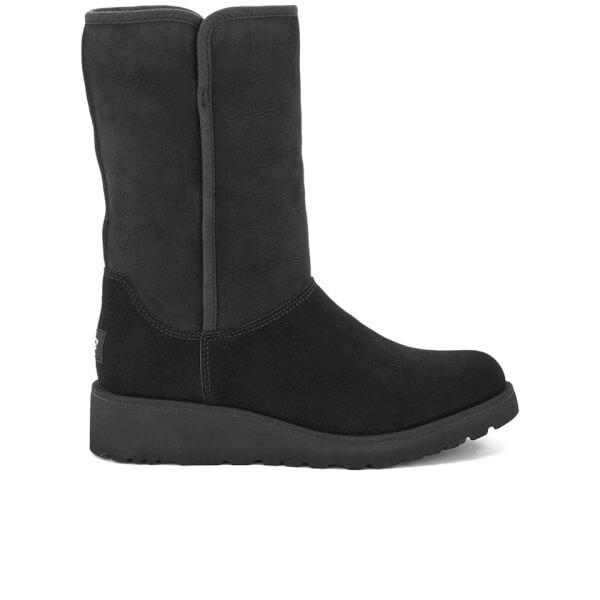 UGG Women's Amie Classic Slim Sheepskin Boots - Black