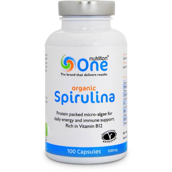 Spirulina Organic (500mg)