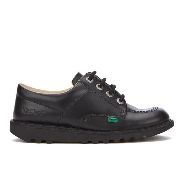 Kickers Kids' Kick Lo Core Lace Up Shoes - Black