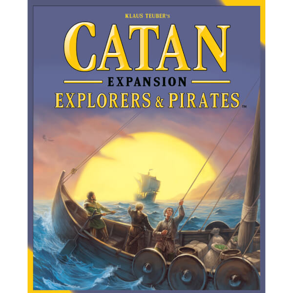Settlers of Catan Explorers & Pirates Expansion Pack