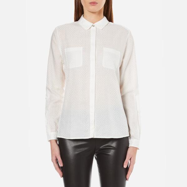 BOSS Orange Women's Ejey Shirt - White