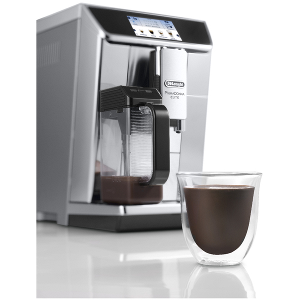 Delonghi Coffee Maker Caffe Elite : De Longhi ECAM650.75.MS Primadonna Elite Coffee Maker - Silver IWOOT