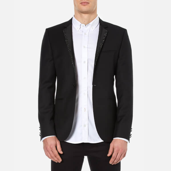 HUGO Men's Adrison Single Breasted Jacket - Black