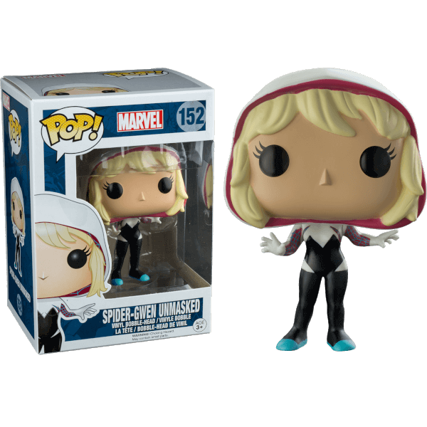 Marvel Comics Spider-Gwen (Unmasked) Pop! Vinyl Figure
