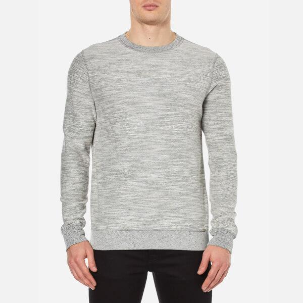 BOSS Orange Men's Woice Reversible Sweatshirt - Open White