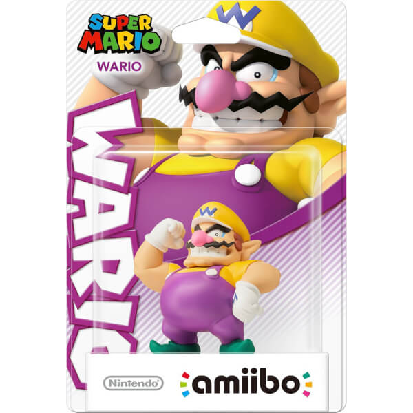 Wario Amiibo Super Mario Collection Nintendo Uk Store