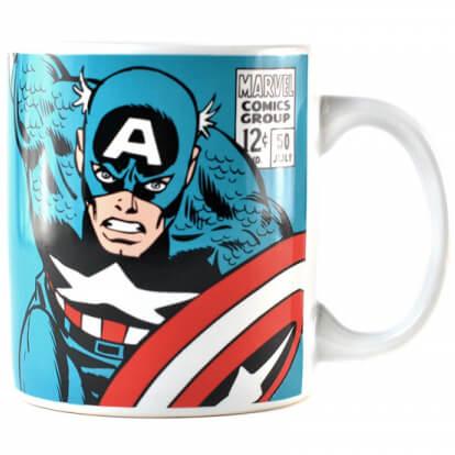 Marvel Captain America Logo Mug