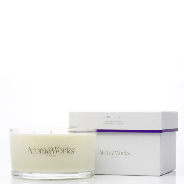 AromaWorks Soulful 3 Wick Candle