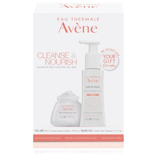 Avène Cleanse & Nourish – Essential Skin Care Regimen for Dry Skin
