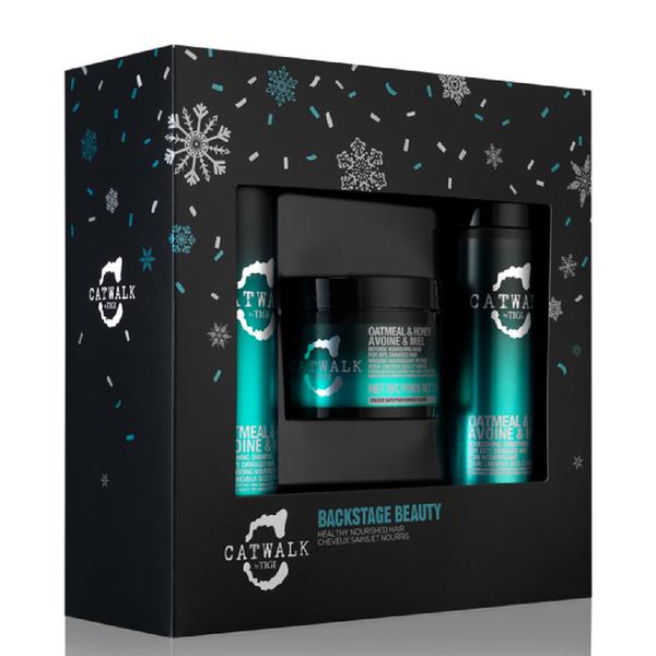 TIGI Catwalk Backstage Beauty Shampoo, Conditioner & Mask Gift Set