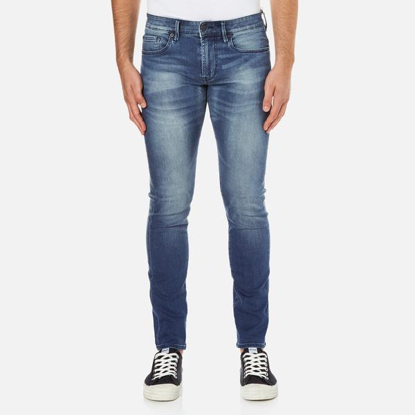 BOSS Orange Men's Orange 72 Light Wash Jeans - Blue