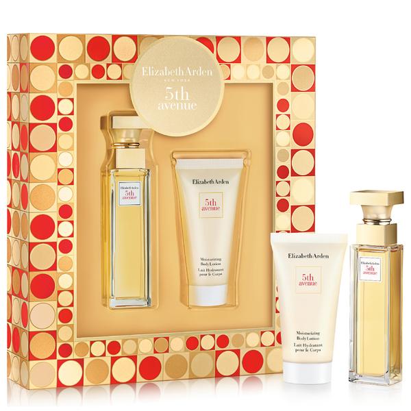 Elizabeth Arden Fifth Avenue Moisturiser & 30ml Perfume Duo