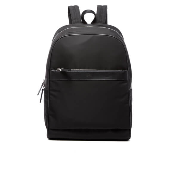 HUGO Men's Digital L Backpack - Black