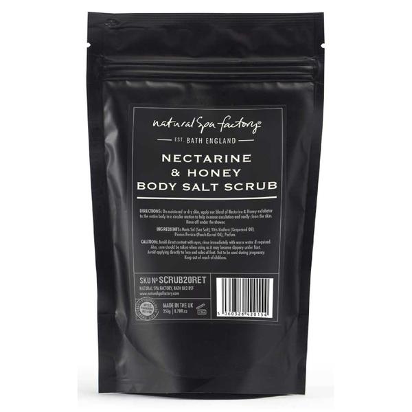 Natural Spa Factory Nectarine and Honey Blossom Body Salt Scrub