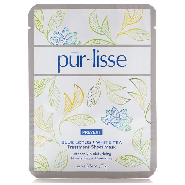 Purlisse Blue Lotus and White Tea Treatment Sheet Mask