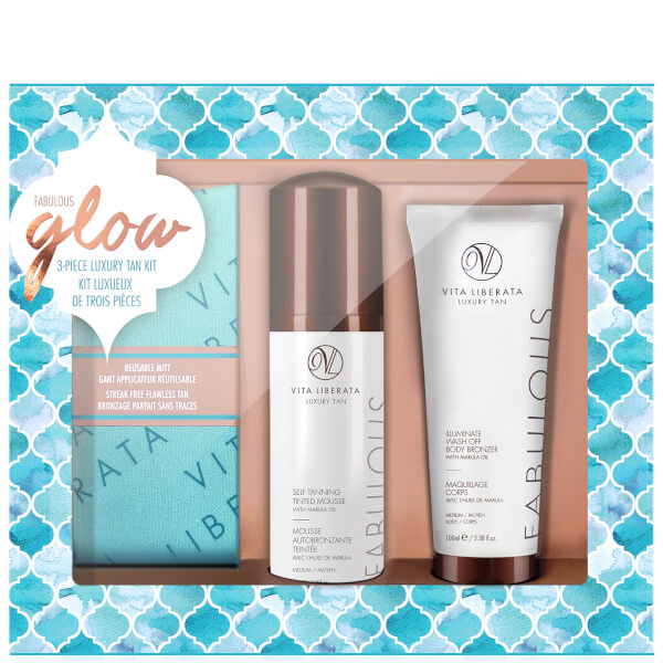 Vita Liberata Fabulous Glow Luxury Tan Box Kit - Medium Mousse