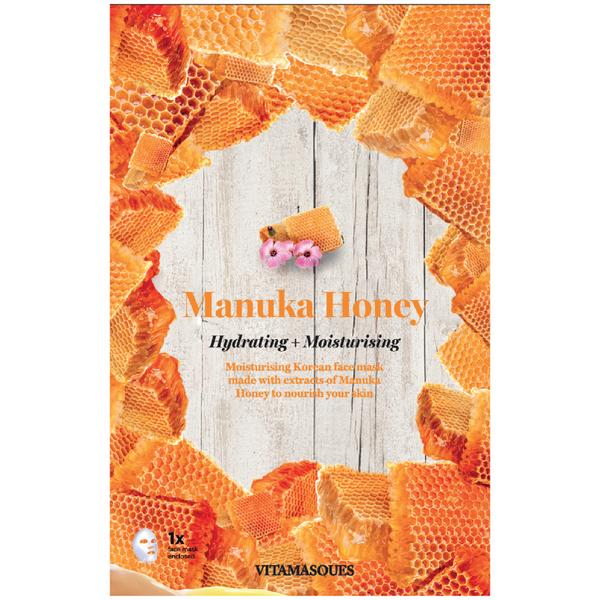 Vitamasques Manuka Honey Hydrating Moisturising Sheet Mask