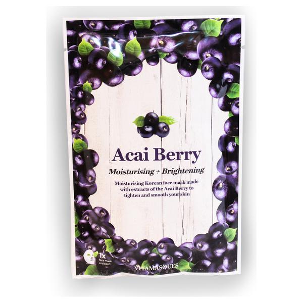 Vitamasques Acai Berry Hydrating Moisturising Sheet Mask