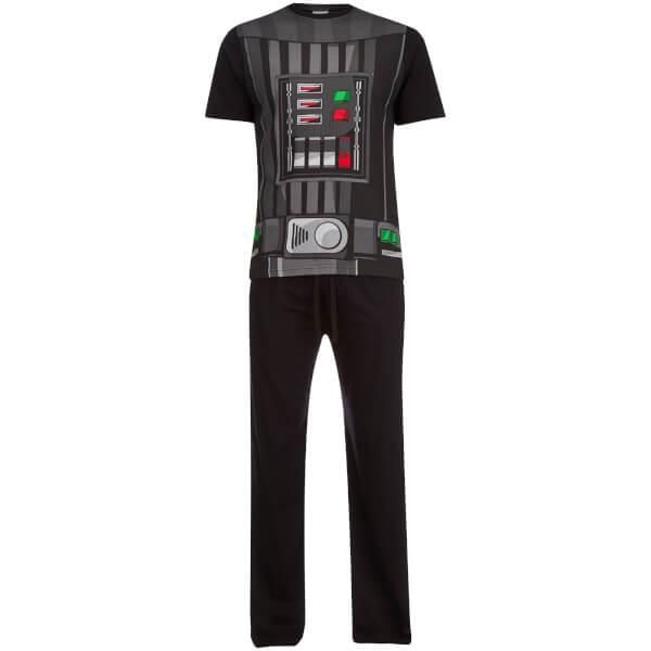 Star Wars Men's Darth Vader Pyjama Set - Black