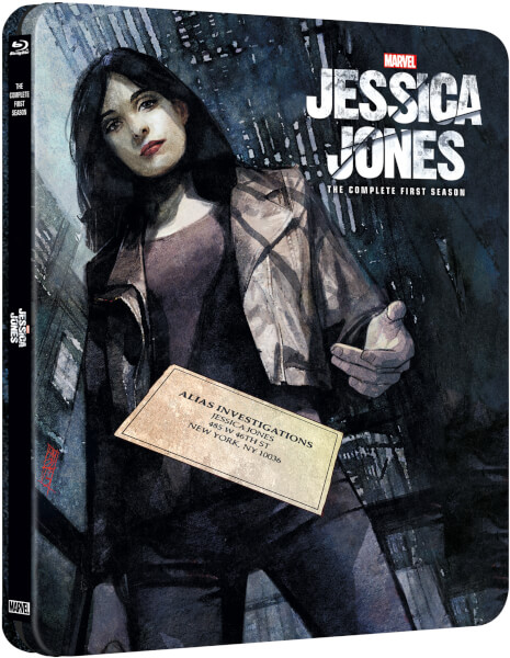 マーベル/ジェシカ・ジョーンズ シーズン1 スチールブック