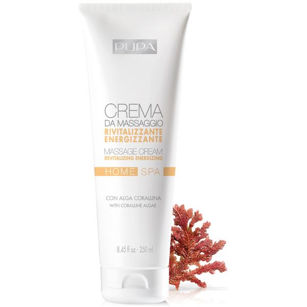 PUPA Home Spa Massage Cream - Revitalizing 250ml