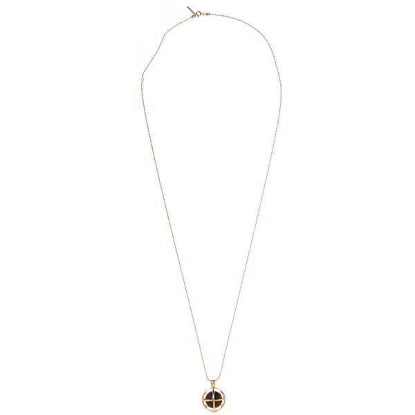Kiki Minchin Women's The Roxy Cage Necklace - Gold/Black