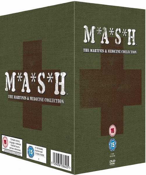 MASH The Martinis & Medicine Collection DVD