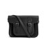 The Cambridge Satchel Company 11 Inch Classic Leather Satchel - Black: Image 1