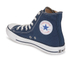 Converse Chuck Taylor All Star Canvas Hi-Top Trainers - Navy: Image 5