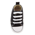 Converse Babies' Chuck Taylor All Star Hi-Top Trainers - Black/White: Image 3