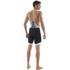Santini BCool Aero Bib Shorts - Black: Image 2