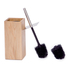 Wireworks Mezza Natural Oak Toilet Brush: Image 2