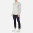 Edwin Men's Terry Long Sleeve T-Shirt - Grey Marl: Image 4